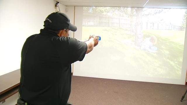 Taser Training Puts The Stress On Tulsa Reserve Deputies