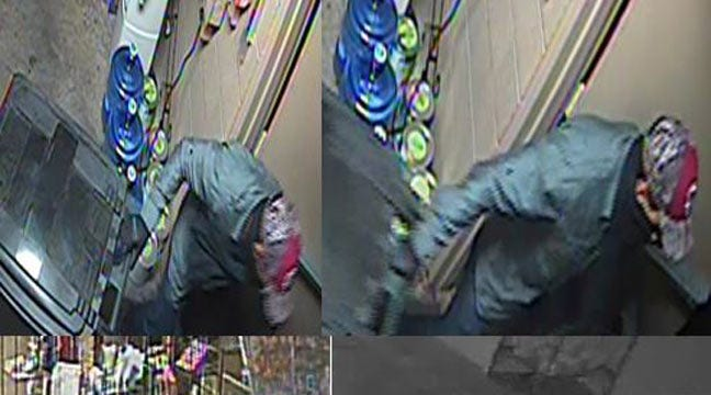Tulsa Police Seek J. Spencer Jewelry Store Burglar