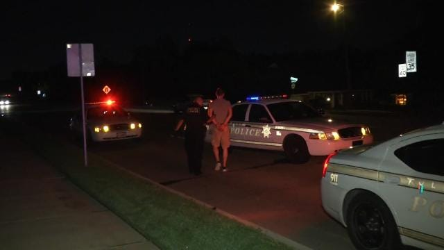 Tulsa Teen Arrested After Pointing Gun At Another Driver