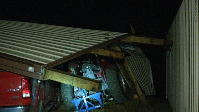 Storm Damage Reported In Inola