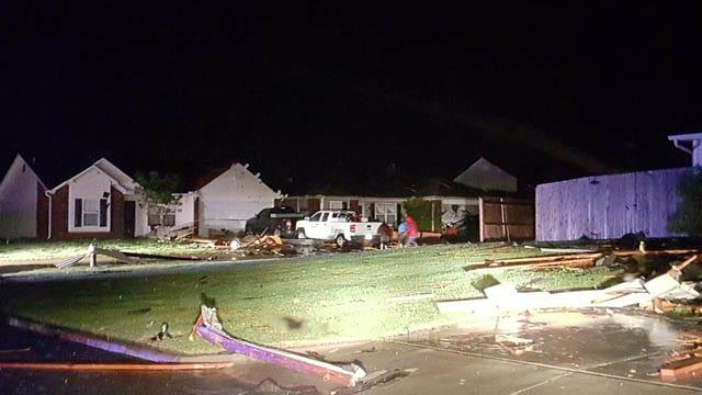 Tornado Hits Near Broken Arrow; Severe Storms Continue Eastward