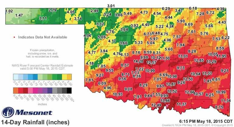 Dick Faurot's Weather Blog: Brief Break Before Showers/Storms Return