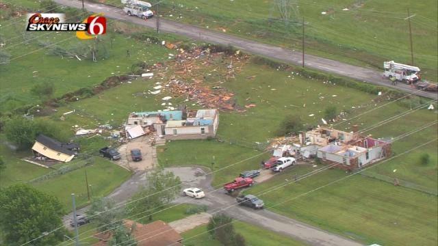 Weather Service Rates Broken Arrow Tornado EF-2, Inola EF-1