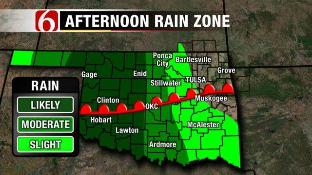 More Rain Coming To Eastern Oklahoma