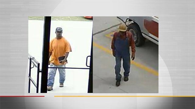 Tulsa Police Looking For Men Who Passed Counterfeit Checks