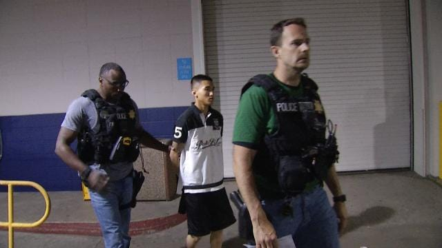 Teen Accused Of Selling Gun Charged With Murder Of Jenks Graduate