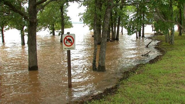 Campers, Boaters Take Advantage Of What They Can At Lake Eufaula