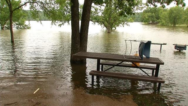 High Water Closes Some Eastern Oklahoma Camping/Boating Locations