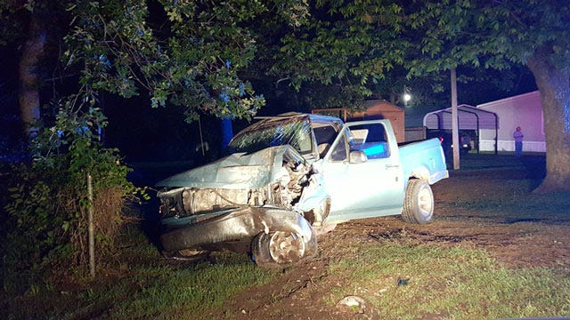 OHP Searches For Driver After West Tulsa County Pickup Crash