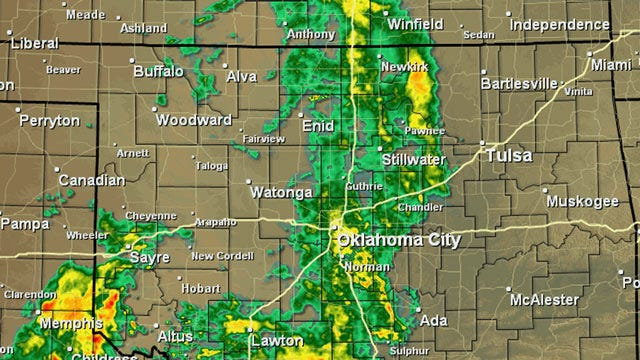 Wet Memorial Day Weekend In Store For Oklahoma