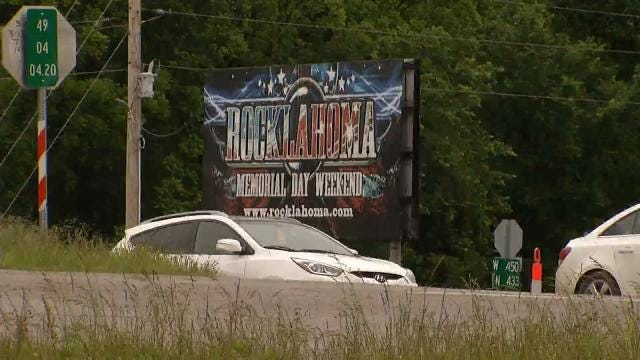 With Threat Of Rain, Rocklahoma Fans Ready To Roll