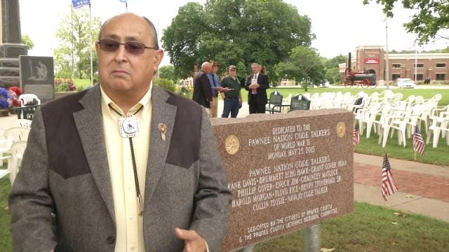 Pawnee Code Talkers Honored For WW2 Service