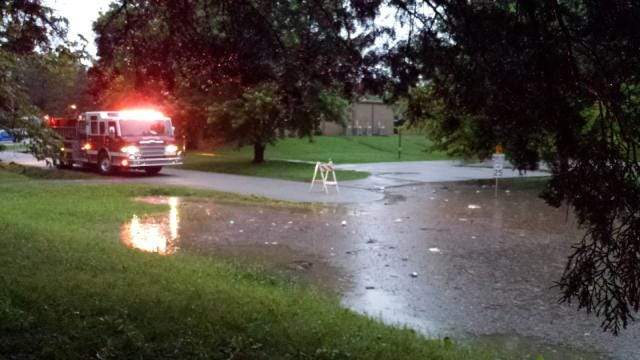 Sapulpa Residents Drying Out From Wet Weekend