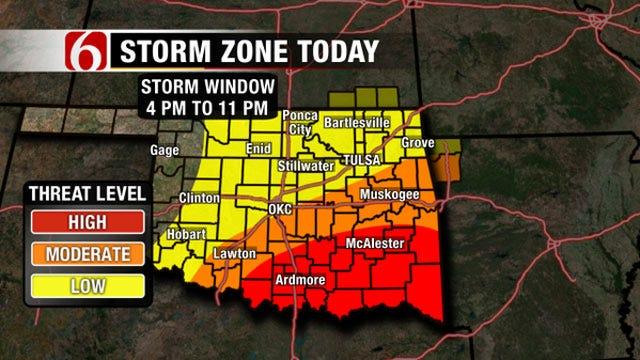 Several Oklahoma Counties Remain Under Flood Warning