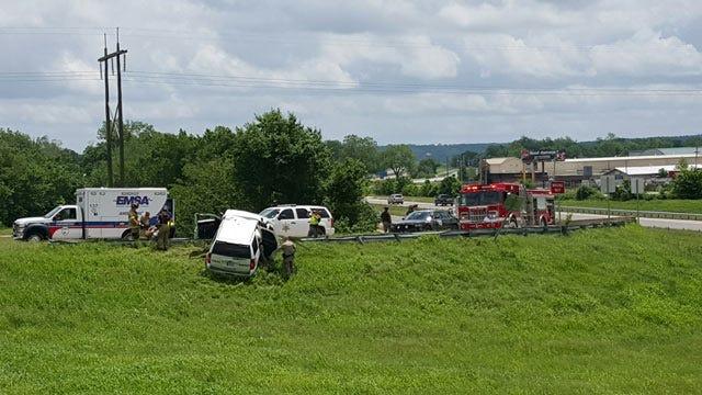 Tulsa County Sheriff Deputy Injured In Patrol Vehicle Crash