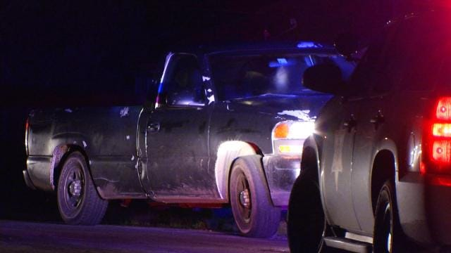 Deputies Search For Driver Of Stolen Tulsa Pickup After Chase