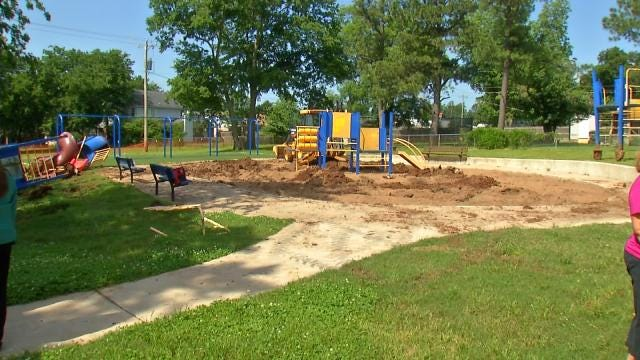 Construction Begins On Sand Springs Splash Pad Projects