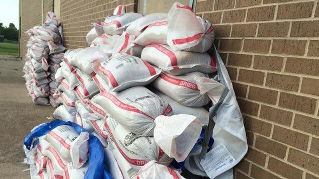 Mannford Schools, Community Brace For Rising Keystone Lake