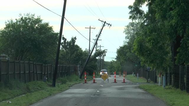 Power Outages Reported Across Eastern Oklahoma