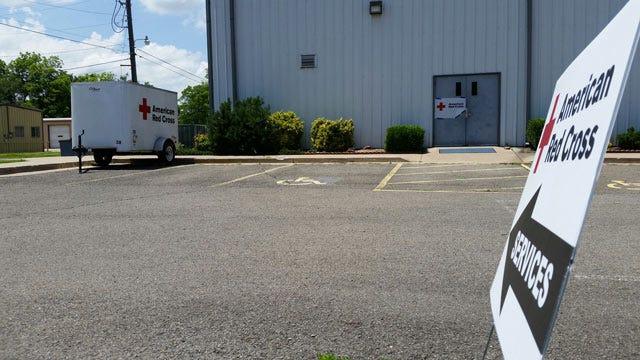 Red Cross Opens Emergency Shelter In Wagoner