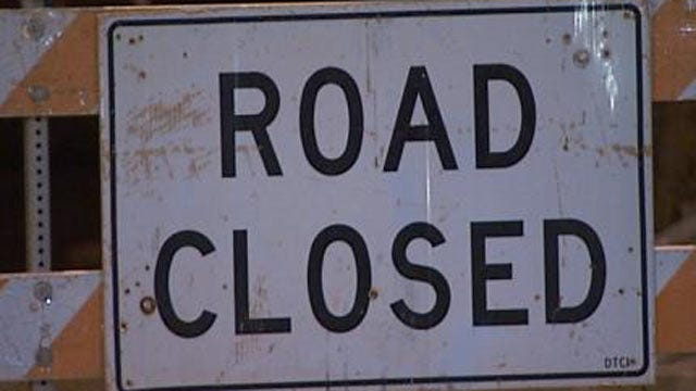 Small Neighborhood Bridge In Midtown Tulsa Closed