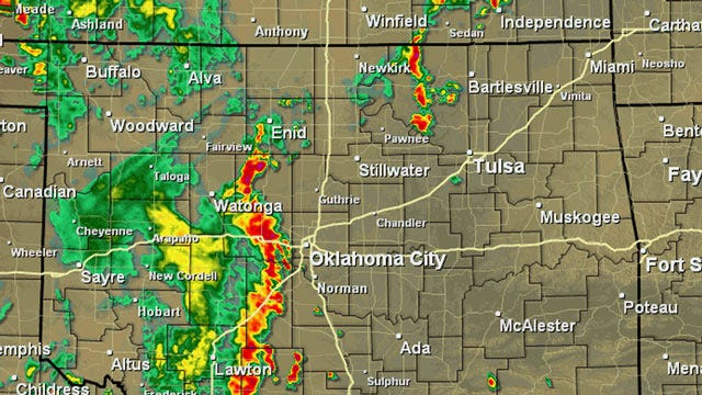 Alan Crone's Weather Blog: Flash Flood Watch For Eastern Oklahoma