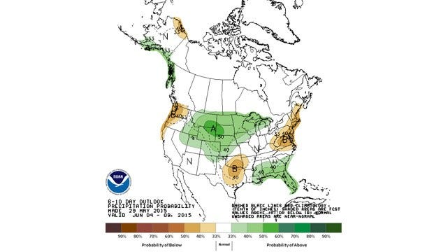 Dick Faurot's Weather Blog: Finally A Break In Our Daily Dousings