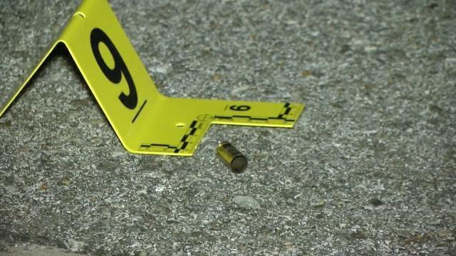 Man Shot In Head, Crashes Car Into Tulsa Apartment