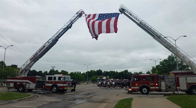 Fallen Claremore Fire Captain Jason Farley Remembered At Service