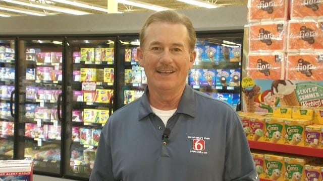 News On 6 Meteorologists Sell Weather Radios At Jenks Reasor's Saturday