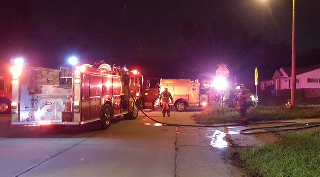 Kids Ride To Station To Report Tulsa House Fire