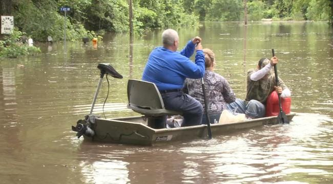 Ottawa County Residents Using ATVs, Boats To Get Out Of Neighborhood