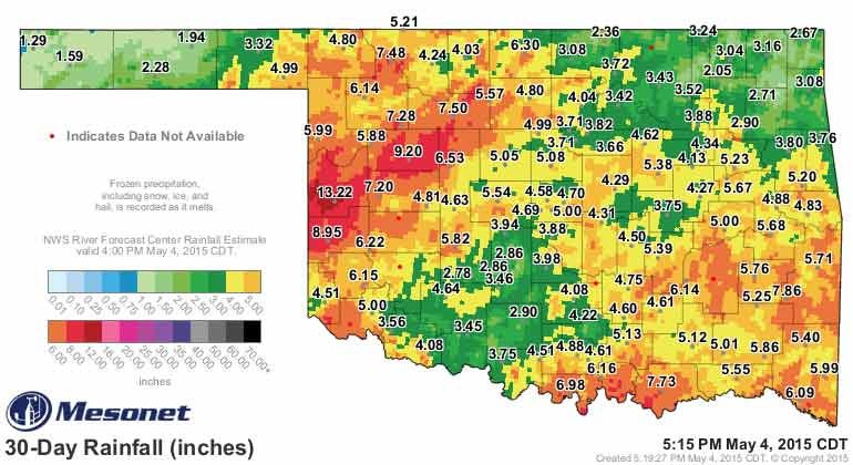Dick Faurot's Weather Blog: Unsettled Week Ahead; Locally Heavy Rains Possible
