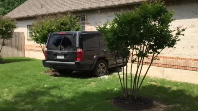 Teen Huffing Aerosol Crashes Into BA Home, Police Say