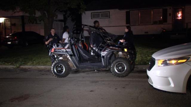 Tulsa Police: Suspects Arrested On Stolen ATV