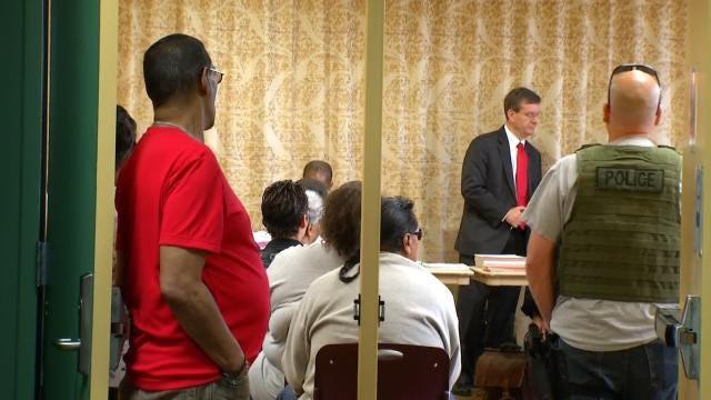 Tulsa's Municipal Judges Hold Court At City Parks