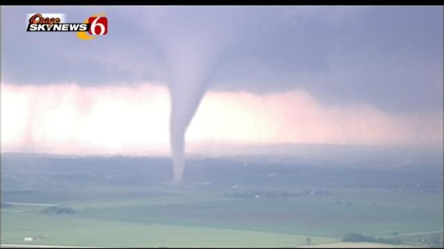 Center Of 'Tornado Alley' Shifting To Green Country, Research Shows