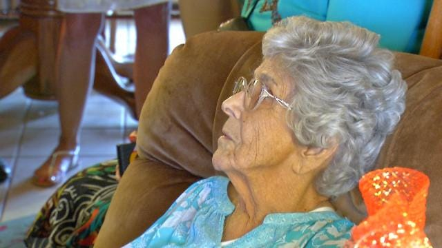 Osage Tribe Centenarian Blessed On Her Birthday