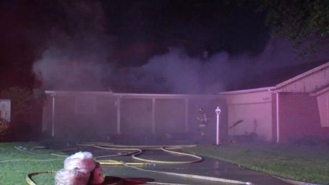 Tulsa House Fire Blamed On Wind