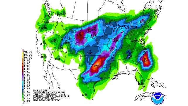 Dick Faurot's Weather Blog: Interesting Weekend, Improving Early Next Week