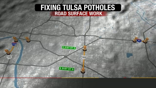 ODOT Plans To Repave Pothole Problem Areas