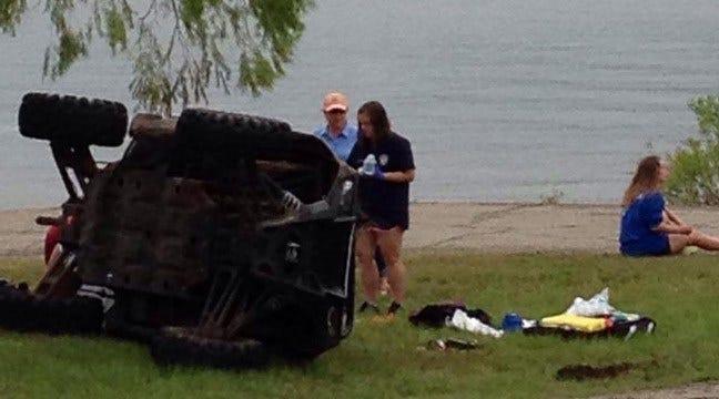 Teenage Girl's Arm Amputated In UTV Crash At Keystone Lake, OHP Says