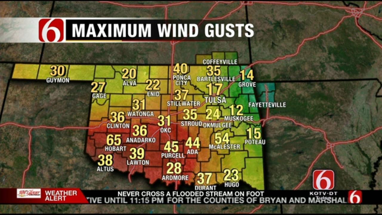 Thunderstorms, Flash Flooding Wreak Havoc On Northeast Oklahoma
