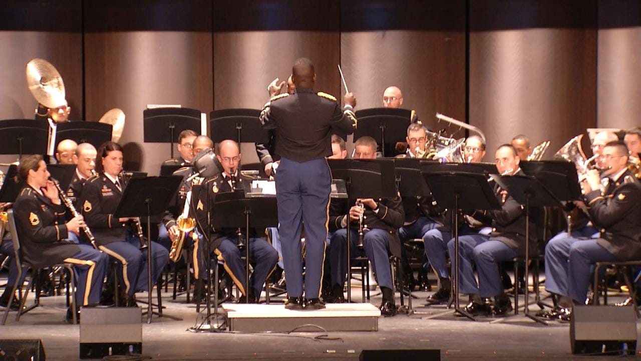 77th Army Band Performs Veterans Salute In Broken Arrow Hale (christian slater) and deakins (john travolta … giles prentice: newson6 com tulsa ok