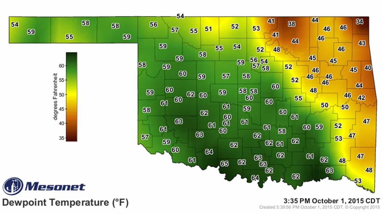 Dick Faurot's Weather Blog: Cool Nights, Mild Days Through The Weekend