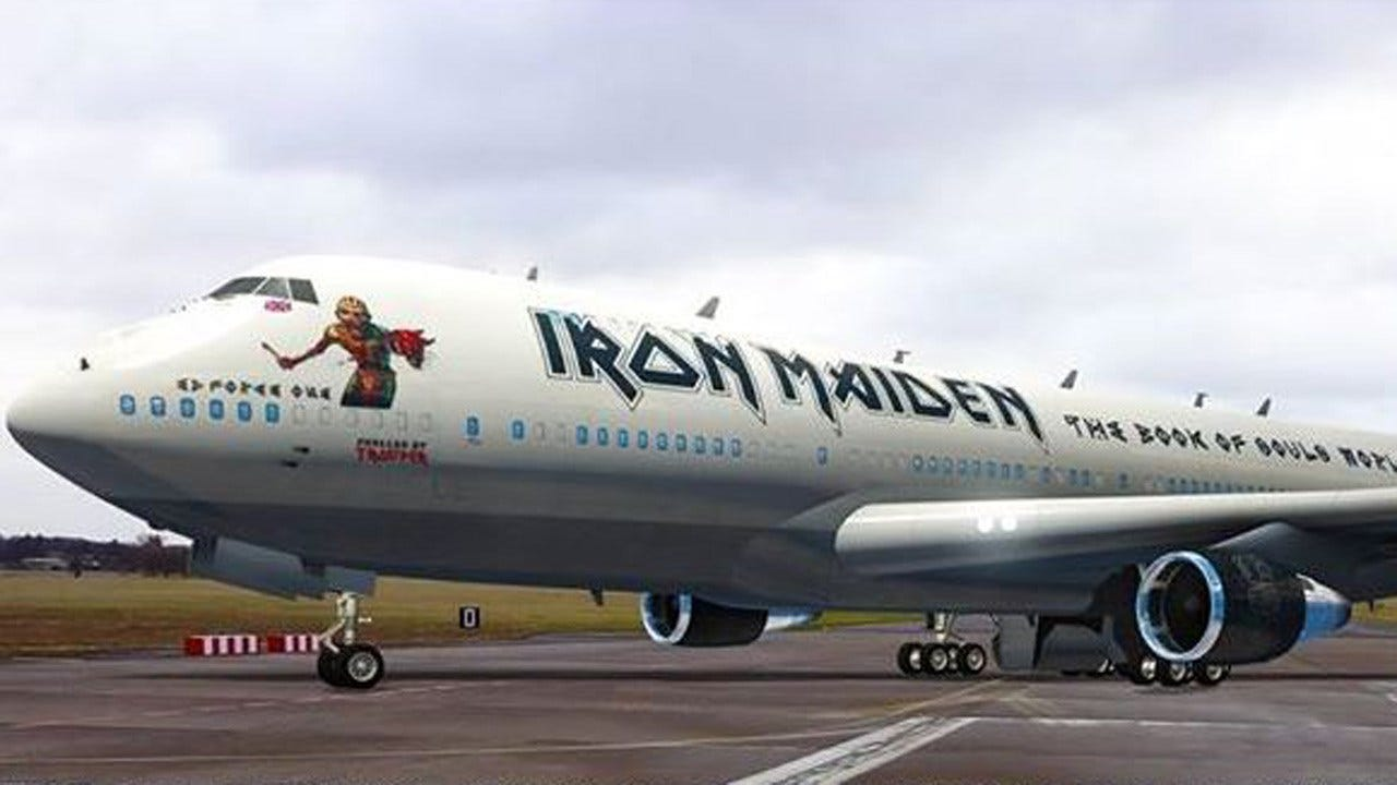 Iron Maiden Picks Tulsa For One Of 9 U.S. Shows