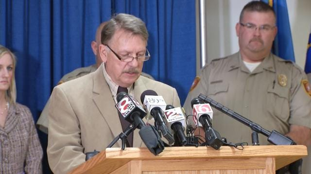 Tulsa County Sheriff To Officially Resign November First