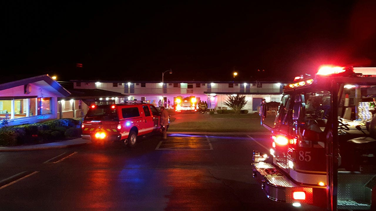 Tulsa Motel Fire Leads To Discovery Of Meth Lab, Police Say