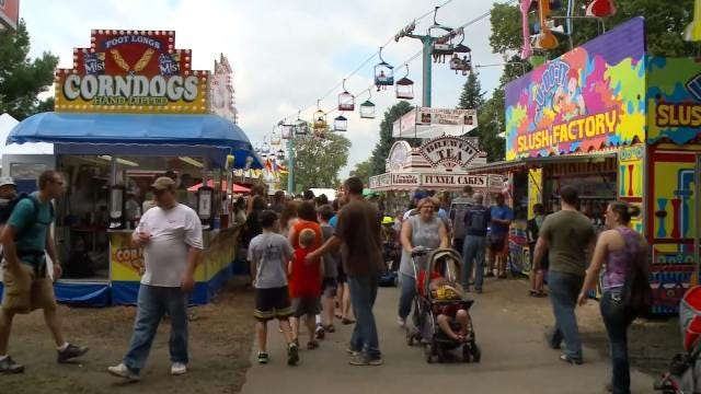 Food Vendors From Across Country Pack Tulsa State Fair Midway