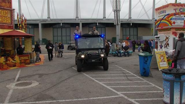 Group Of Tulsa County Deputies Dedicated To Keeping Fair-Goers Safe